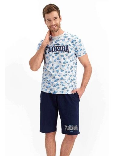 Roly Poly Rolypoly Paradise Florida Karmelanj Erkek Bermuda Takım Gri